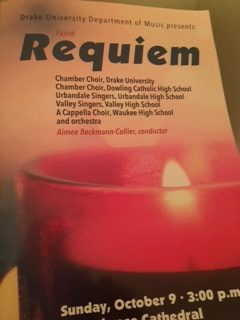 Dowling's Chamber Choir Sings Faure's Requiem in a Big Collaboration