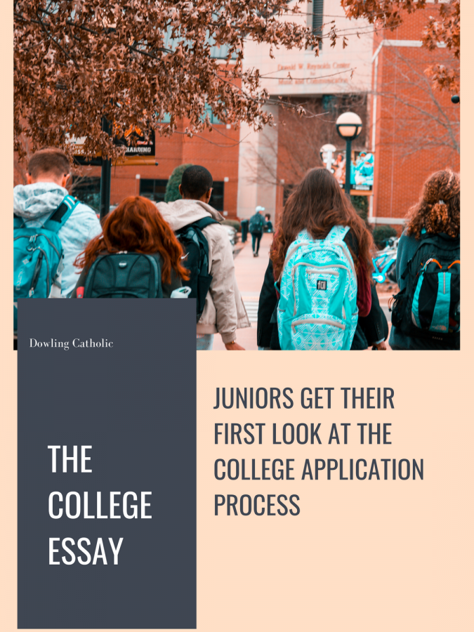 Juniors prepare for the up-coming college application season