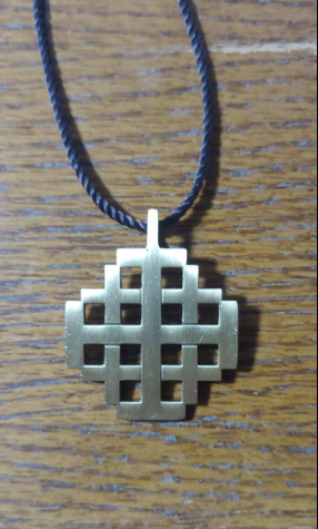 Students receive a necklace from Kairos afterwards