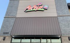the modern exterior of Clives newest restaurant, Papaya!