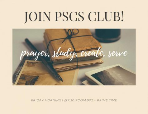 All students are welcome at PSCS weekly meetings.